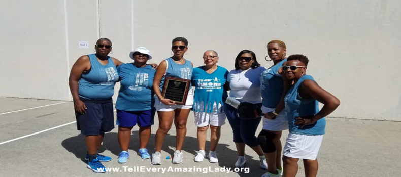 Supporters raise funds in racquetball tournament