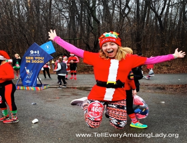 T.E.A.L.® Runners for the 2020 United Airlines NYC Half: Teressa