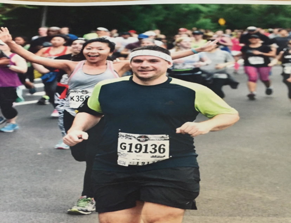 T.E.A.L.® RUNNERS FOR THE 2019 UNITED AIRLINES NYC HALF: Tim