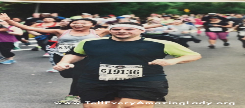 2020 TCS New York City Marathon runner for team Tell Every Amazing Lady®: Tim