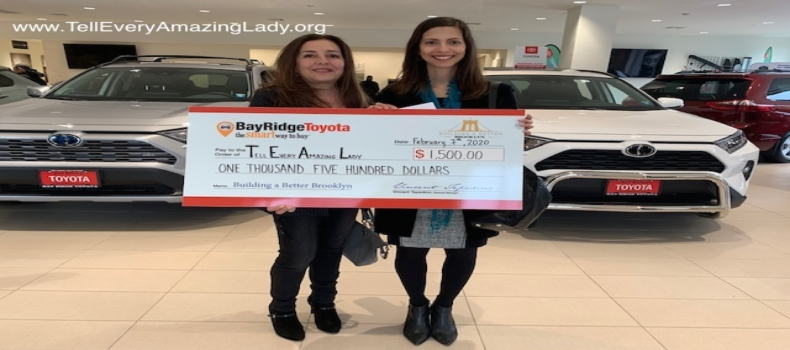 T.E.A.L.® wins first place in Bay Ridge Toyota Building a Better Brooklyn contest
