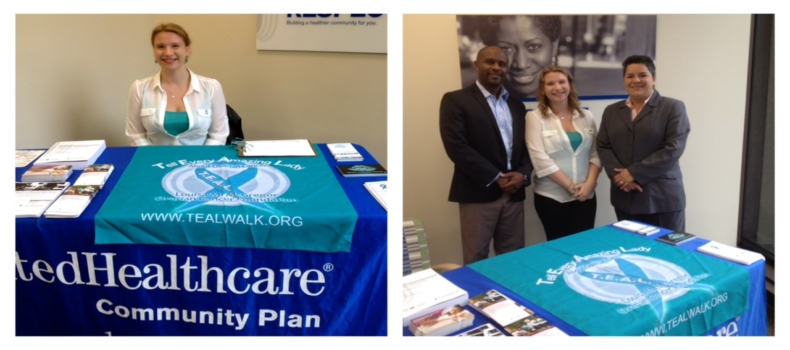 T.E.A.L. Spreads Ovarian Cancer Awareness at United Healthcare Branch in Brooklyn