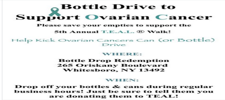 Whitesboro Bottle Fundraiser