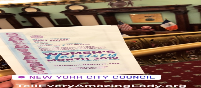 T.E.A.L.® Attends 2019 Women's Herstory Month at City Hall