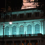 T.E.A.L.® turns City Hall teal in annual lighting