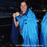 2020 TCS New York City Marathon runner for team Tell Every Amazing Lady®: Lisa