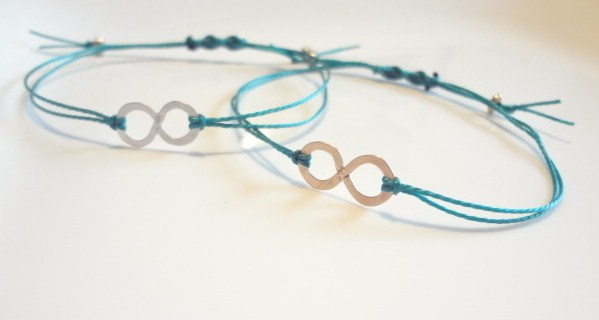 Teal Infinity Ovarian Cancer Awareness Bracelet Fighting United Til The End By Vianca Mercedes Collection